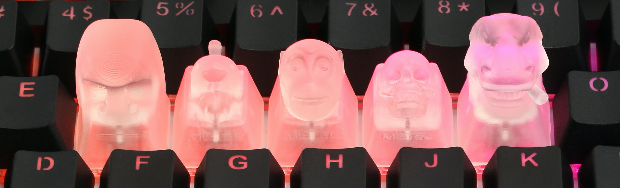 Mistel Transparent Novelty Keycap