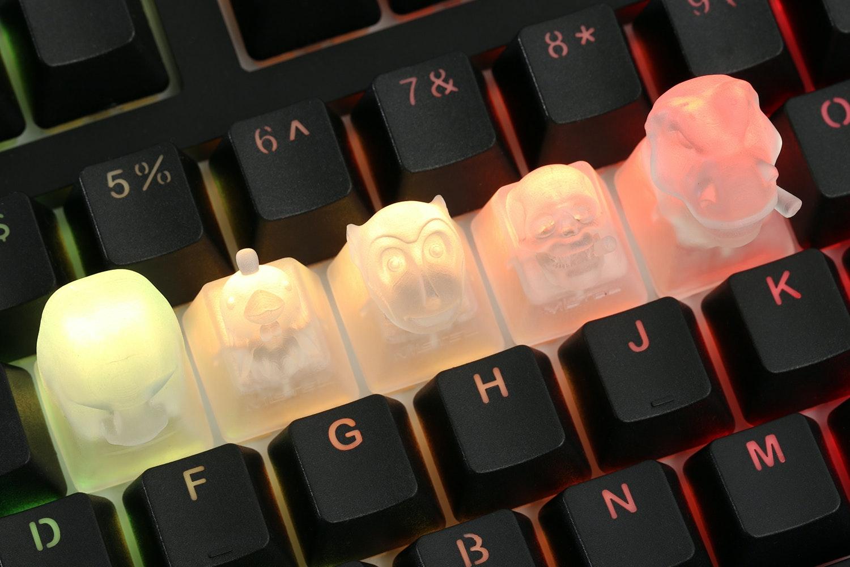 Mistel Transparent Novelty Keycap