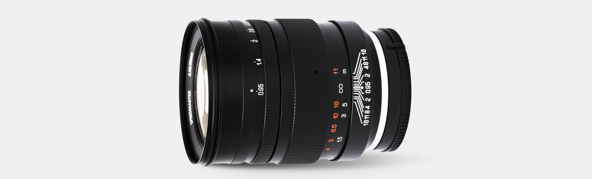 Mitakon Speedmaster 50mm f/0.95 Lens (Sony E)