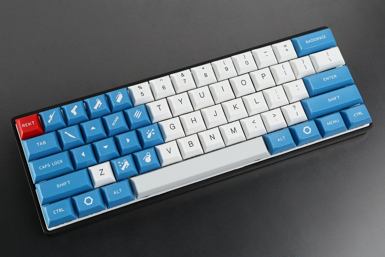 Overcast DSA Custom Keycap Set