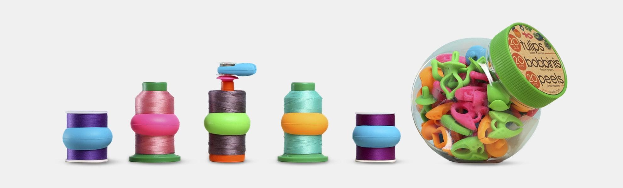 60-Piece Mixed Notions Jar
