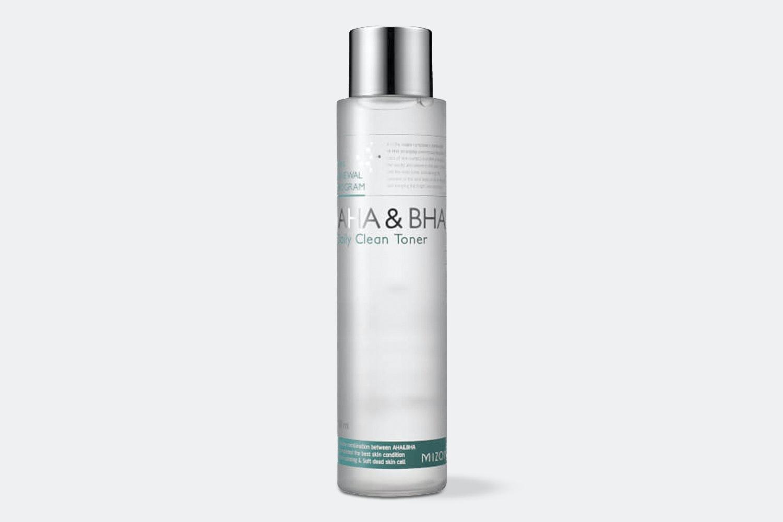 Mizon AHA & BHA Toner + AHA 8% Peeling Serum Set