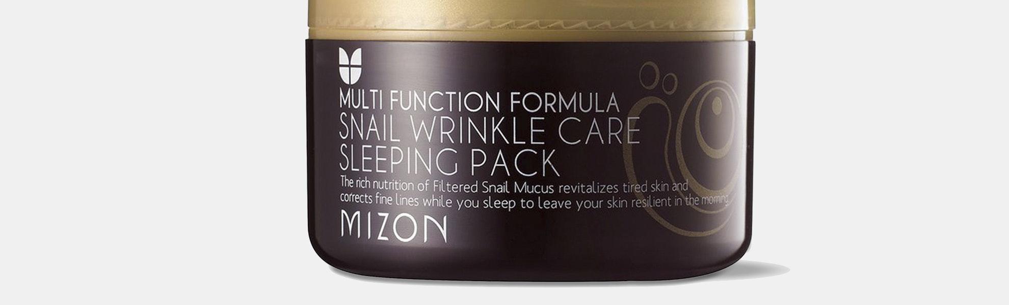 Mizon Snail Wrinkle Care Sleeping Pack (2-Pack)