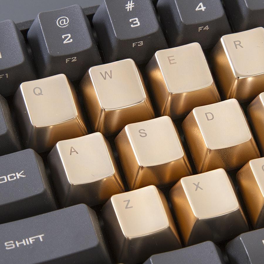 MKC Zinc Gold Tone 37 Keyset