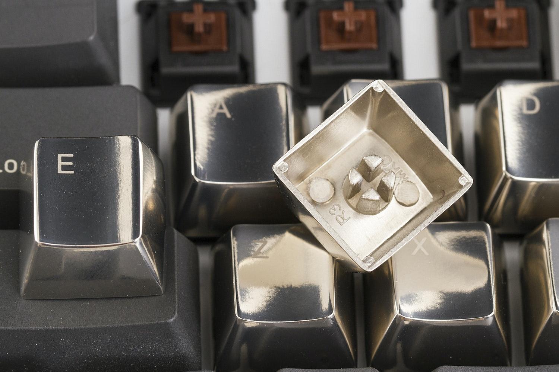 MKC Zinc Silver Tone 37 Keyset