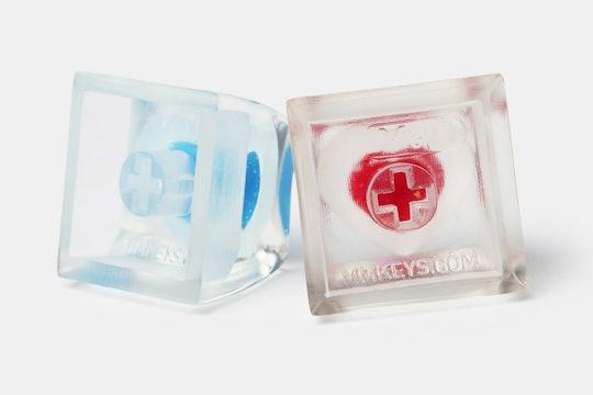 MMCaps Frozen Heartbeats Resin Artisan Keycap