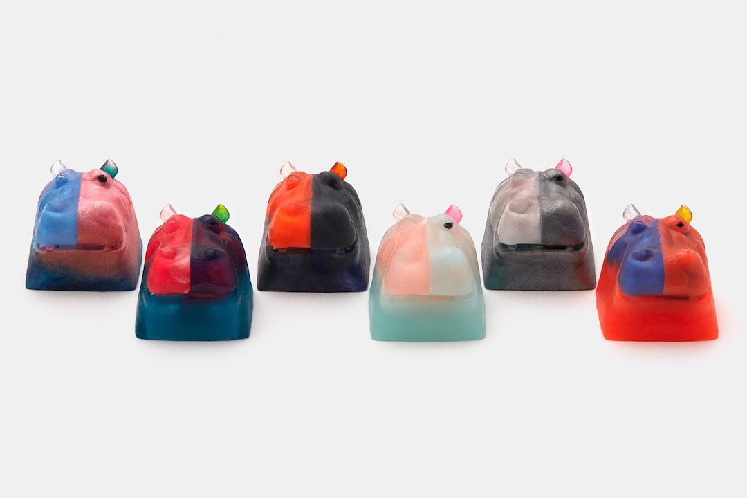 MMCAPS Hippo Resin Artisan Keycap