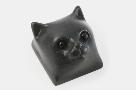 Resin Kitty Cat Artisan Keycap
