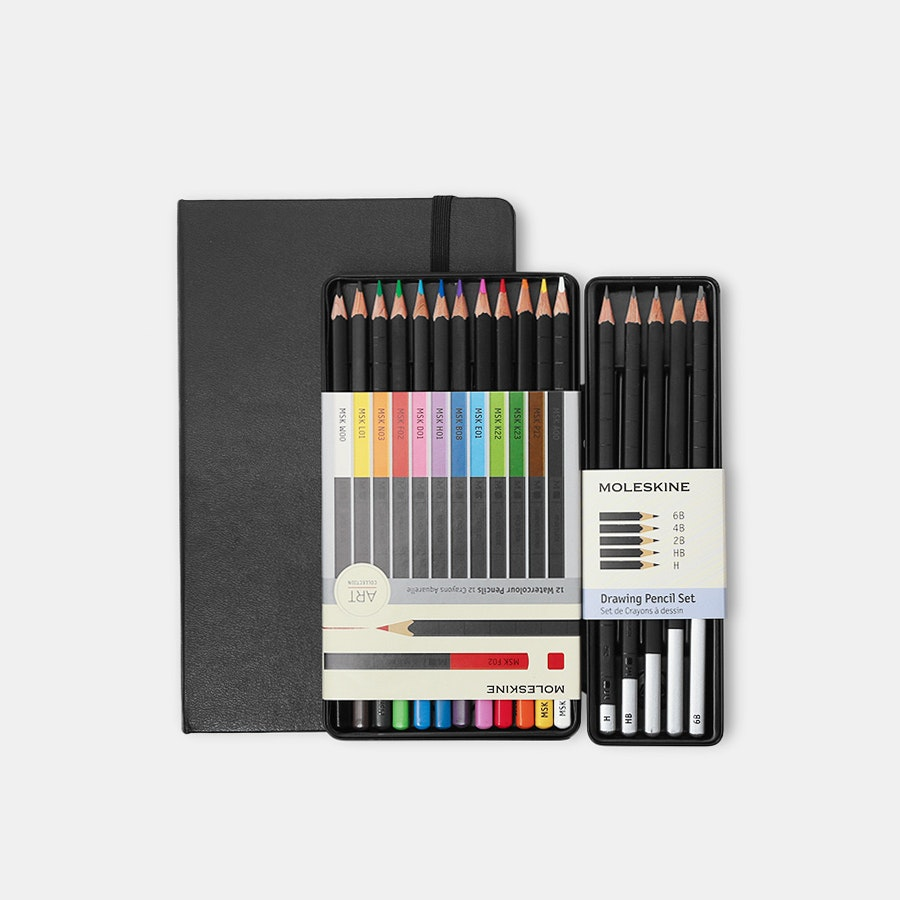 Moleskine Art Collection Sketching Kit Bundle