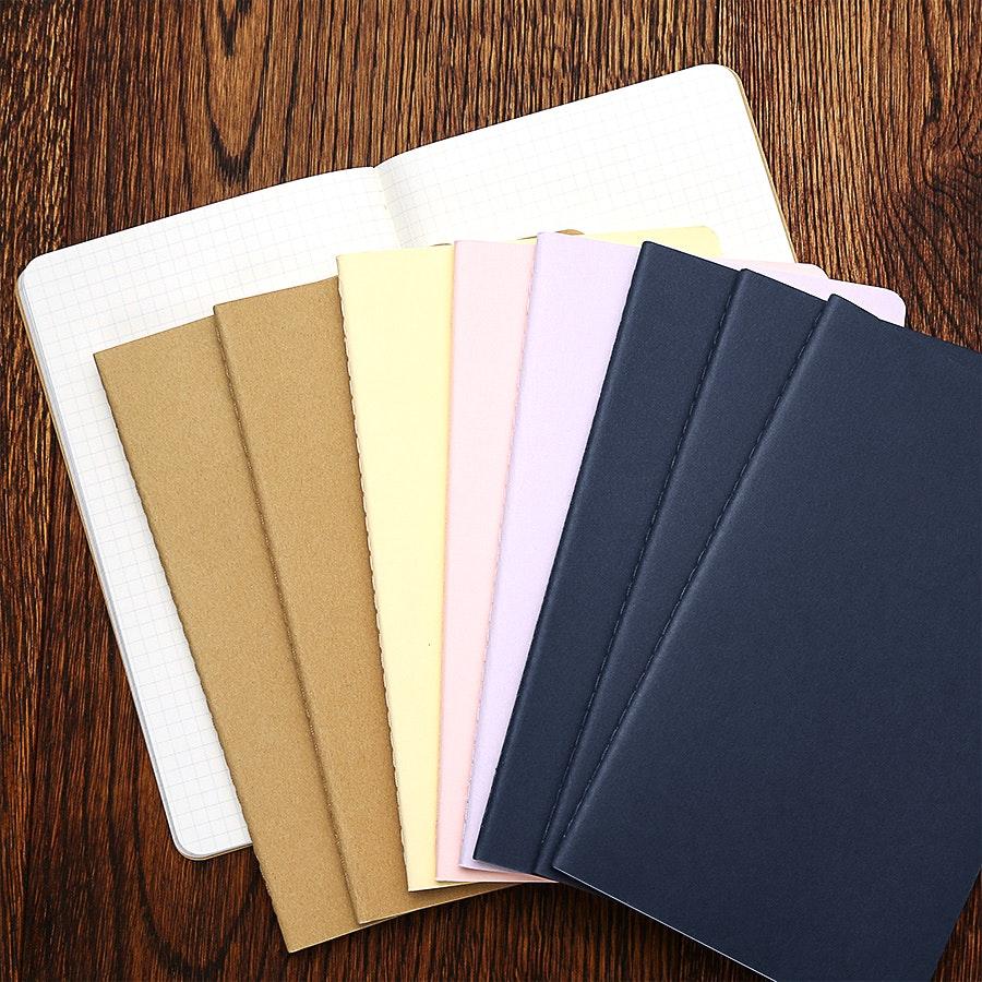 Moleskine Large Cahier Journals (Three 3-Packs)