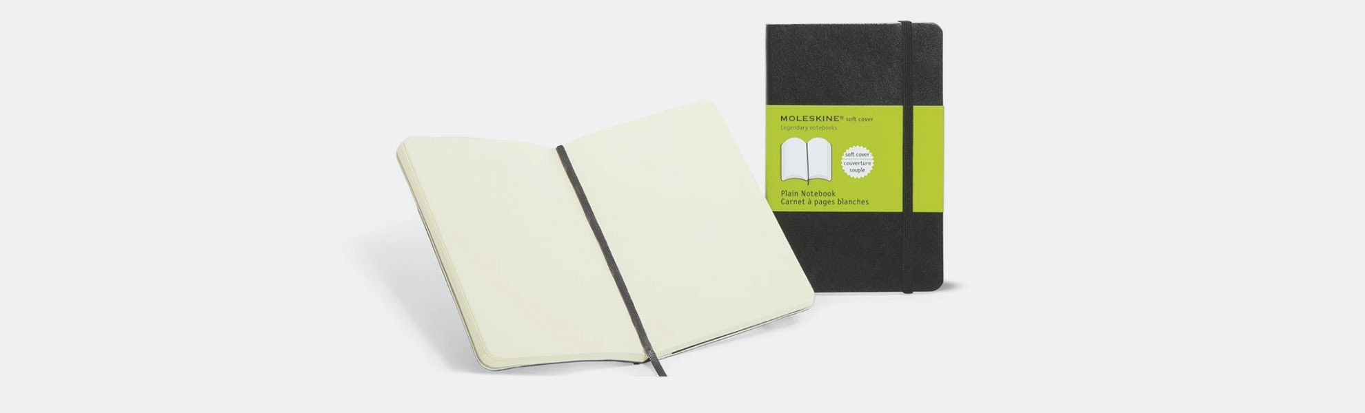 Moleskine Large Notebook (2-Pack) – Flash Sale