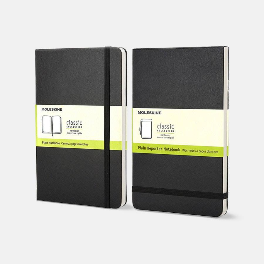 Moleskine Large Notebook (2-Pack) –Flash Sale