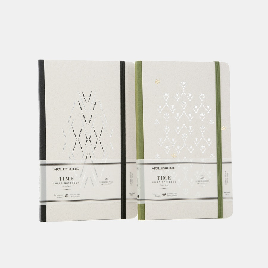 Moleskine Limited-Edition Time Notebooks (2-Pack)