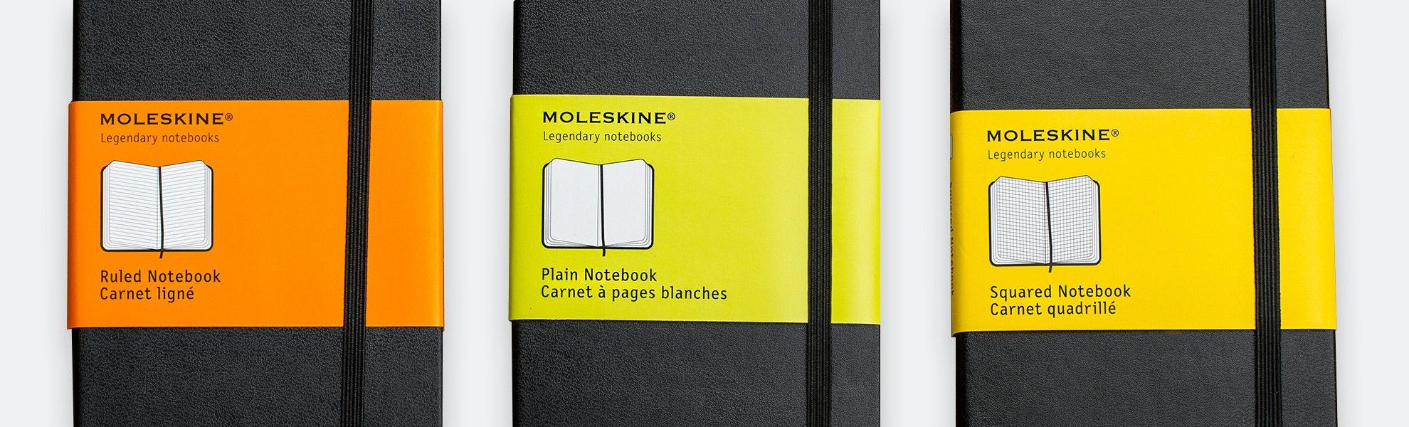 Moleskine Pocket Notebook (5-Pack)