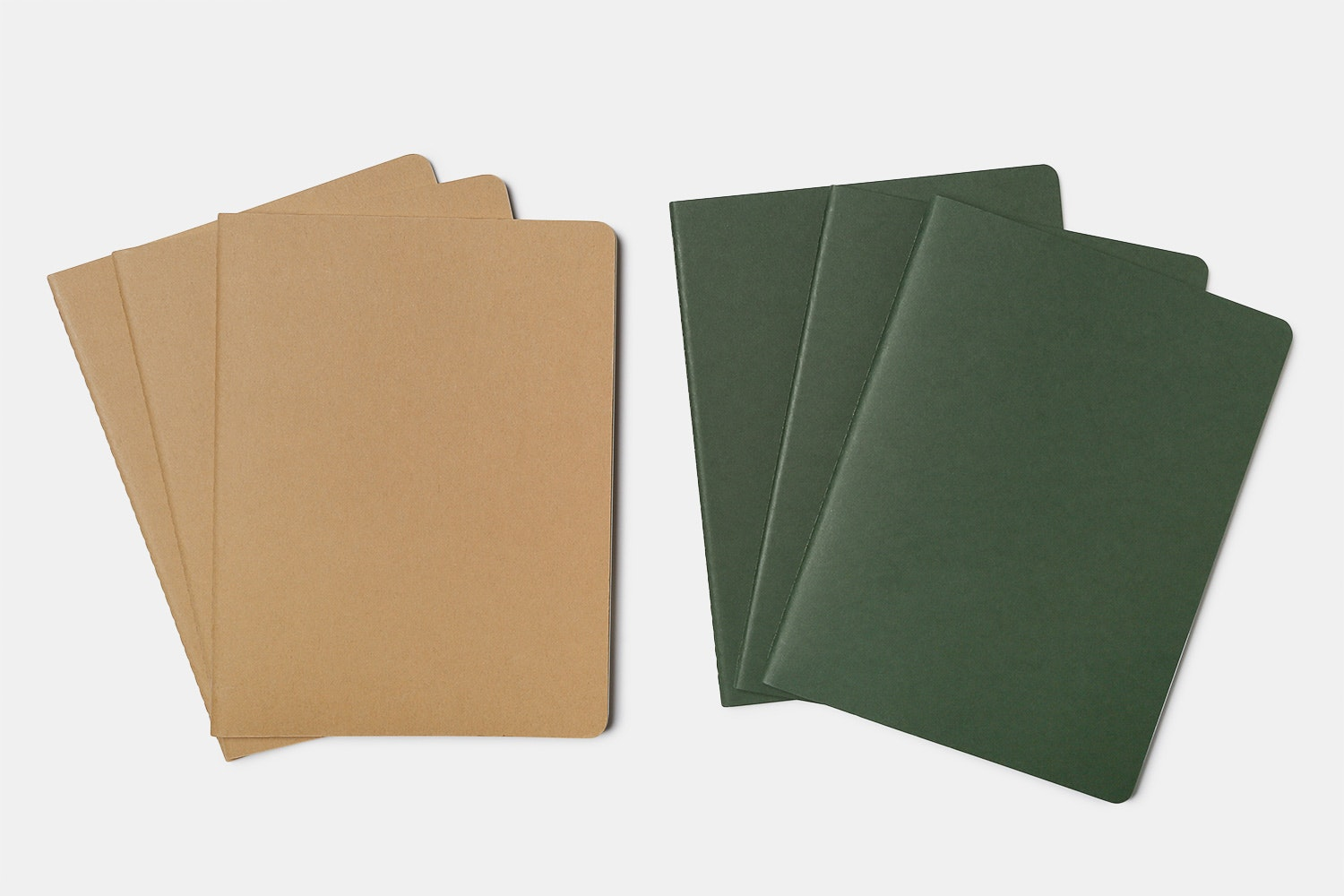 Moleskine XL Cahier Journals (Two 3-Packs)