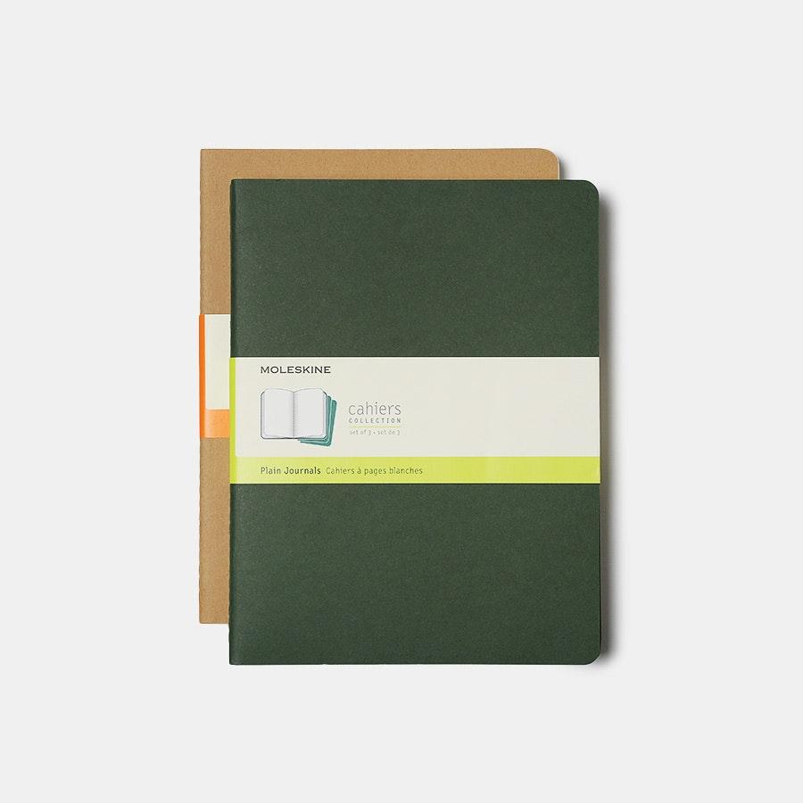 Moleskine XL Cahier Journals (Two 3-Packs)