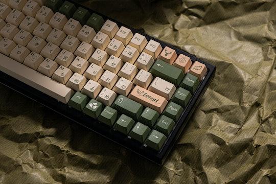 MOMOKA Forest of Elves Dye-Subbed PBT Keycap Set