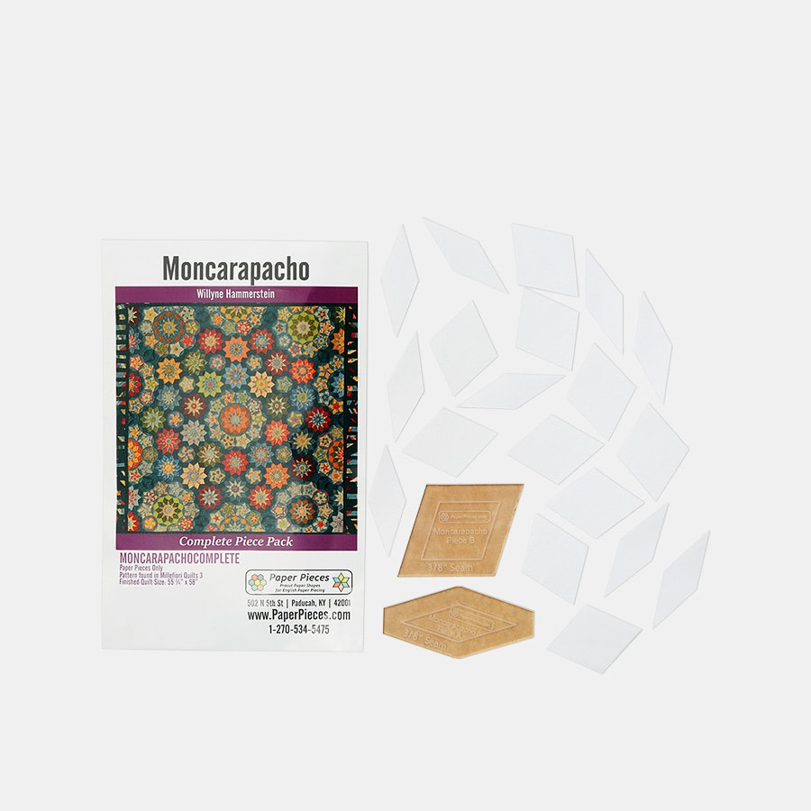 Moncarapacho Paper-Piecing Bundle