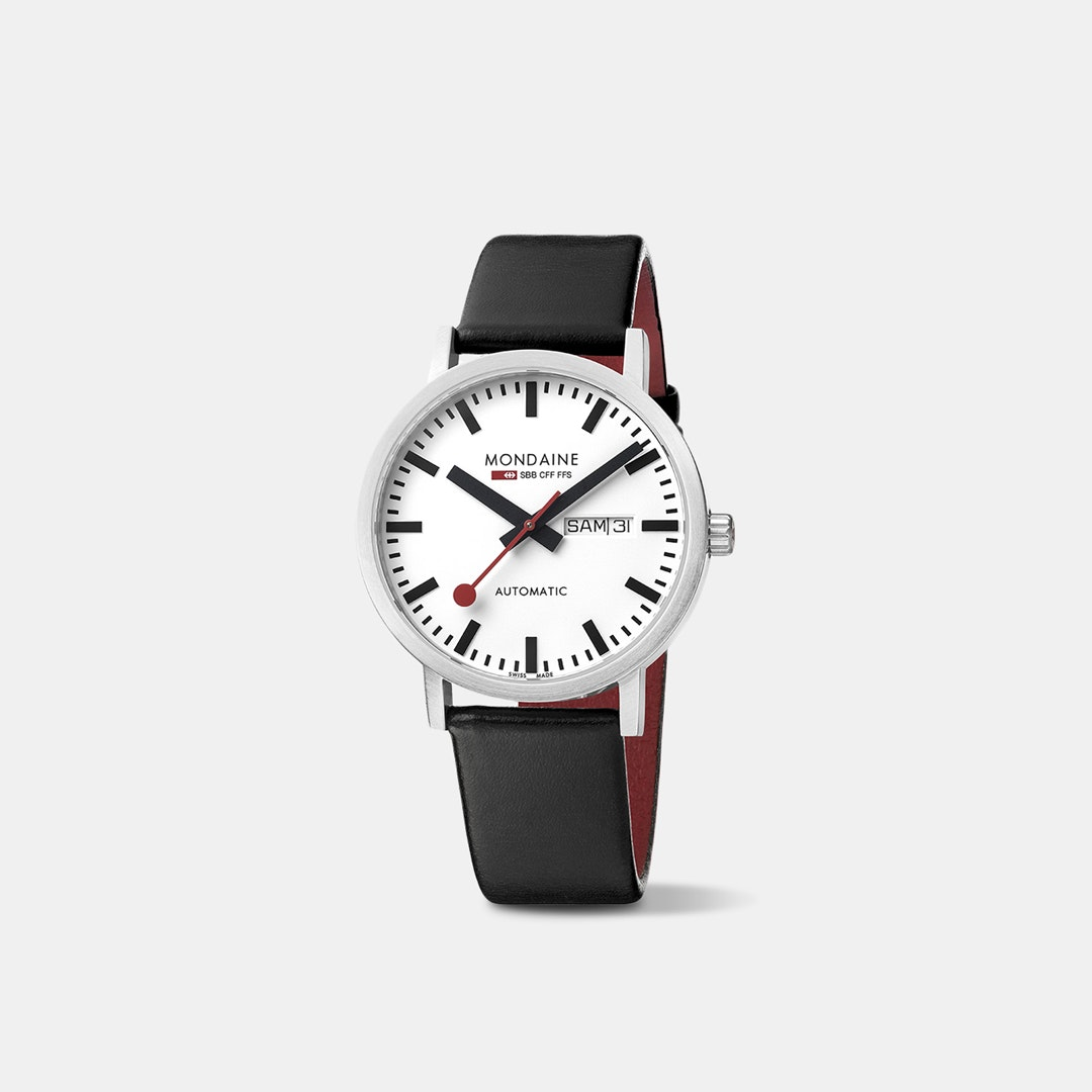 Mondaine Classic Day Date Automatic Watch