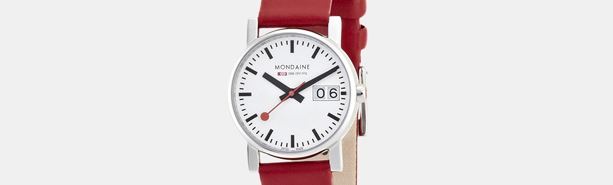 Mondaine Evo Big Date Quartz Ladies' Watch