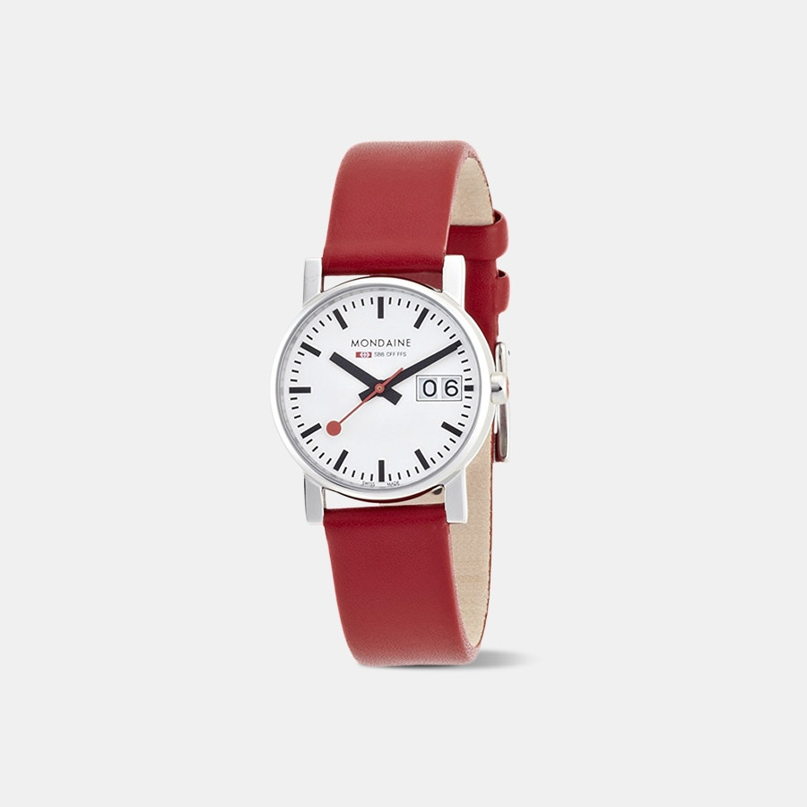 Mondaine Evo Big Date Quartz Ladies' Watch