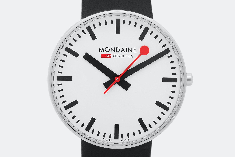 Mondaine Giant Quartz Watch