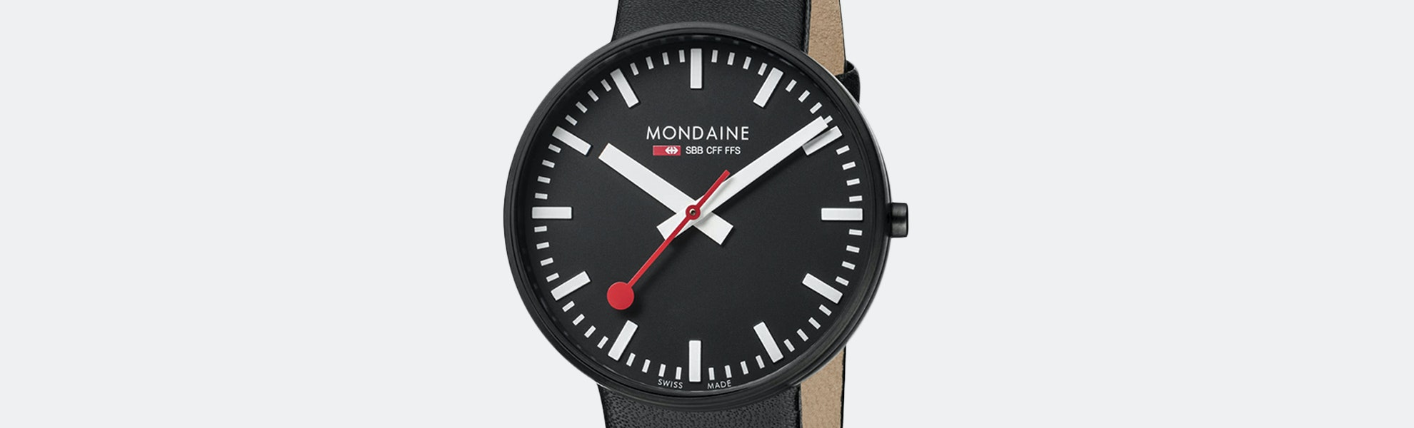 Mondaine Giant Quartz Watch