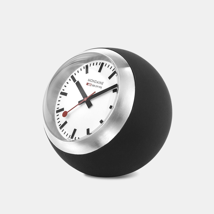 Mondaine Globe Desk Clock