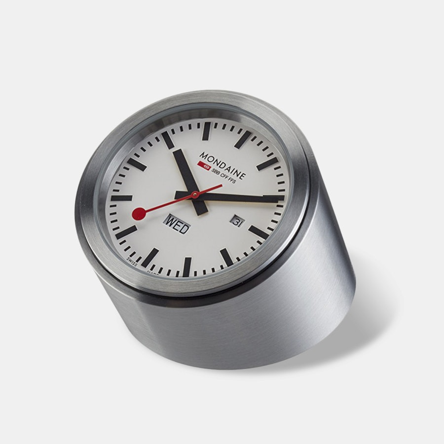 Mondaine Railways Tube Desk Clock