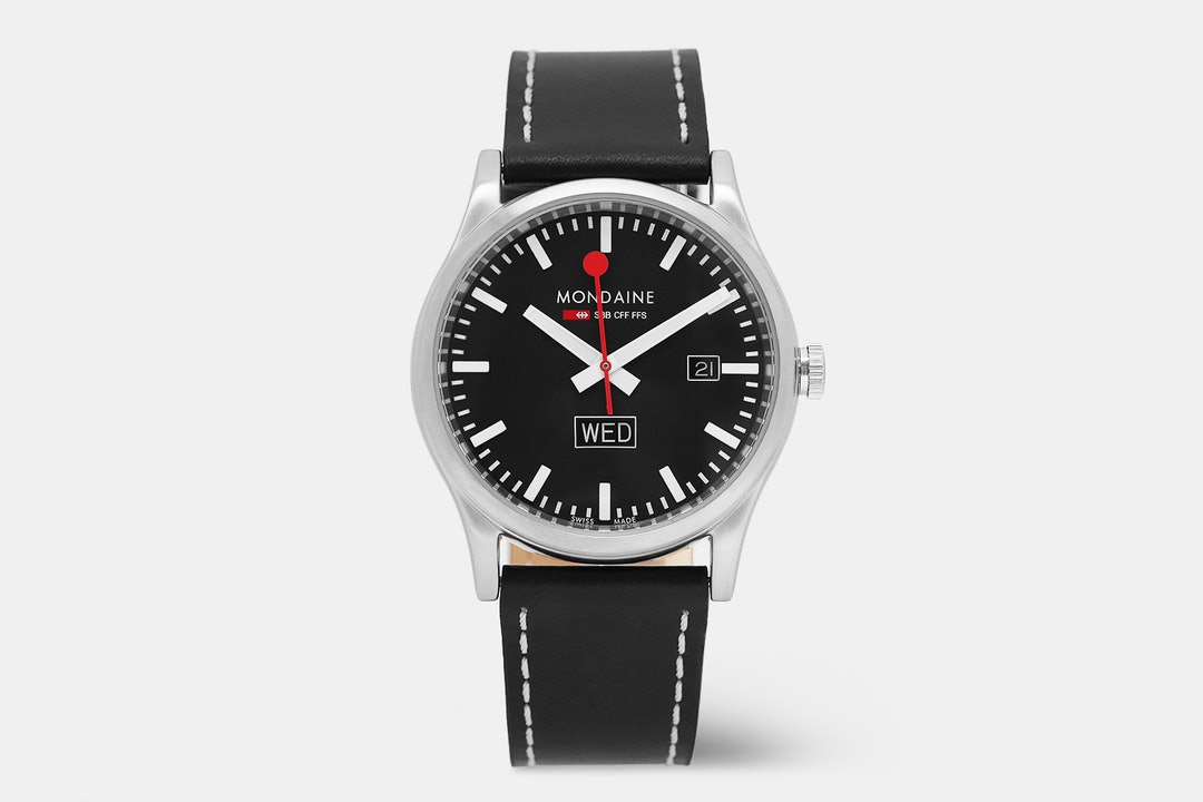 Mondaine Sport DayDate Quartz Watch