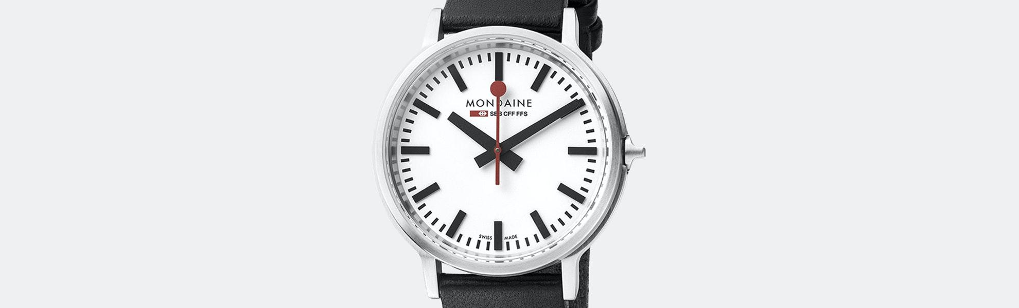 Mondaine Stop2Go Watch