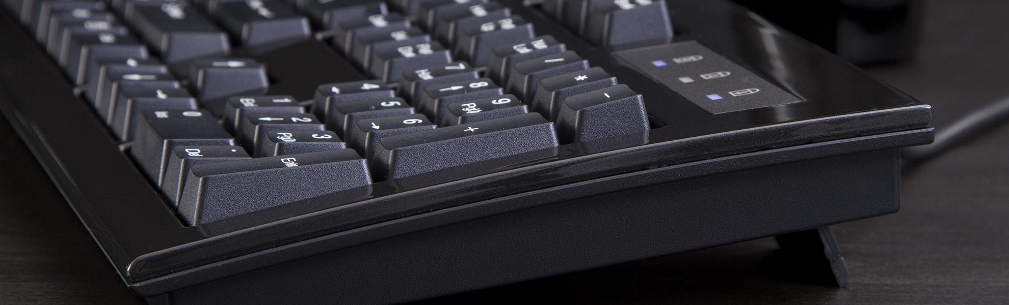 Monoprice Cherry MX Blue Keyboard