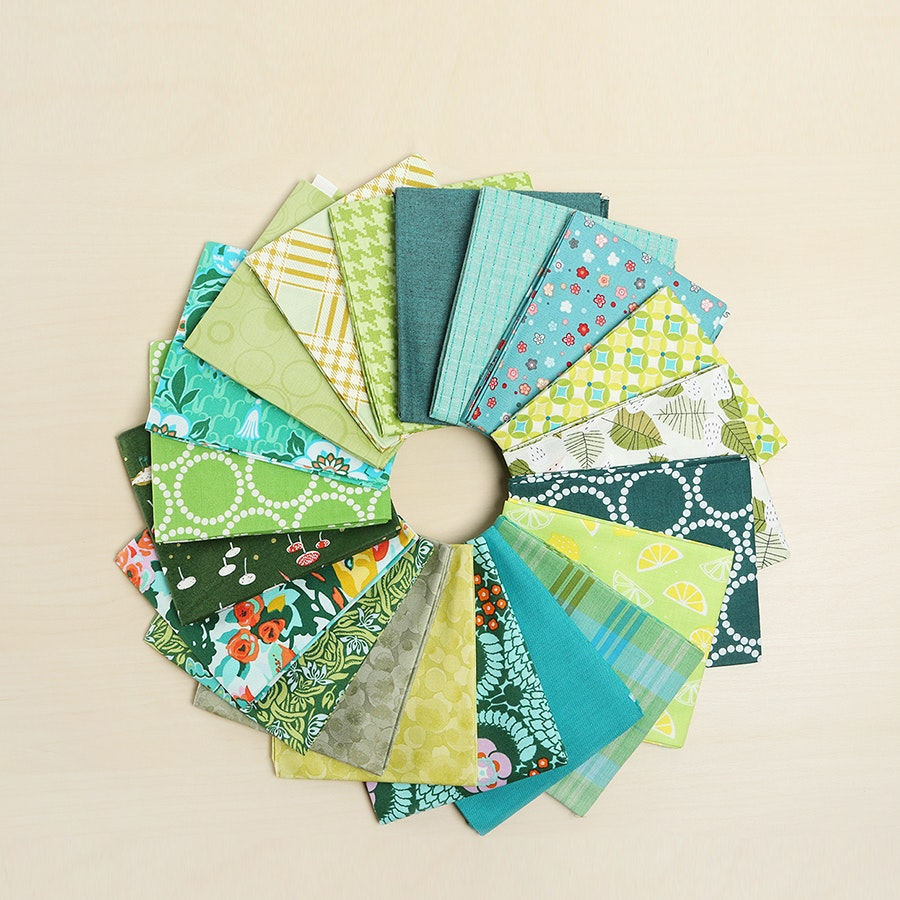 Monochromatic Fabric Bundle