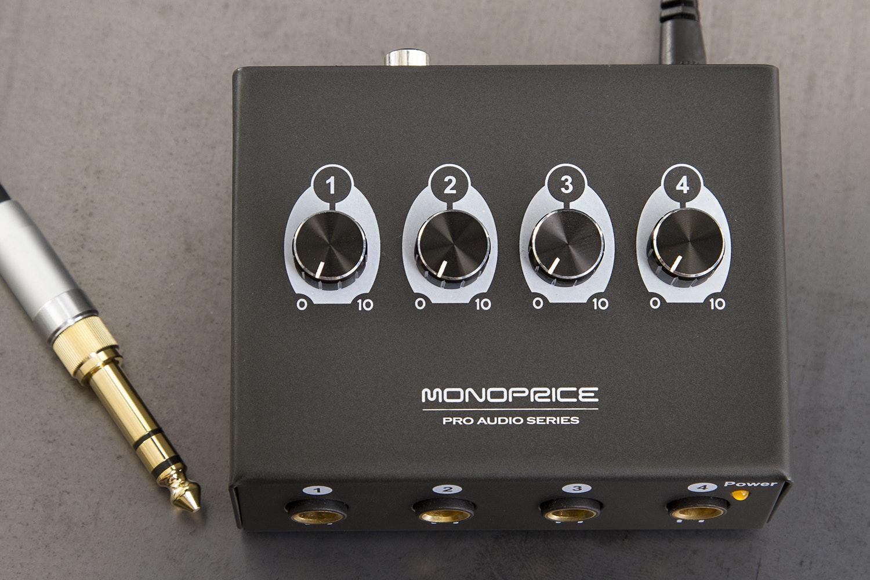 Monoprice 4-Channel Headphone Amplifier