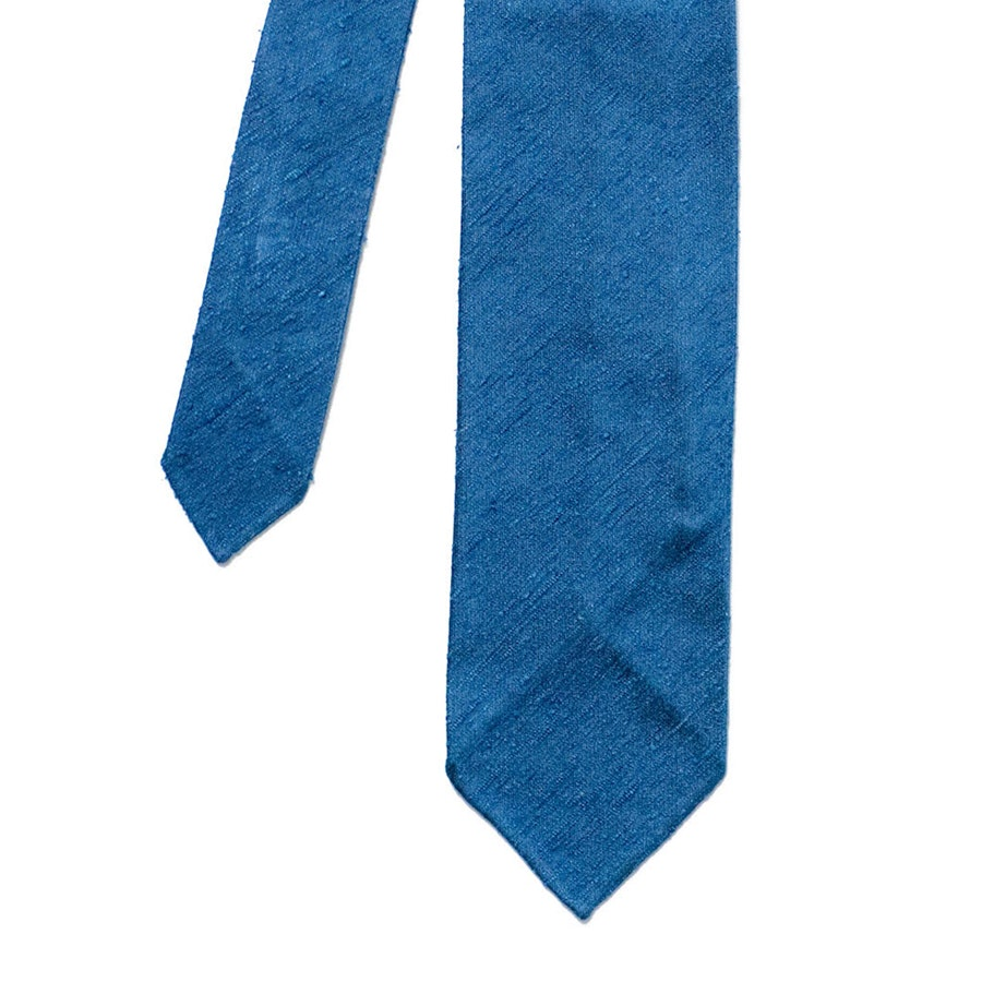 Silk Shantung - Blue