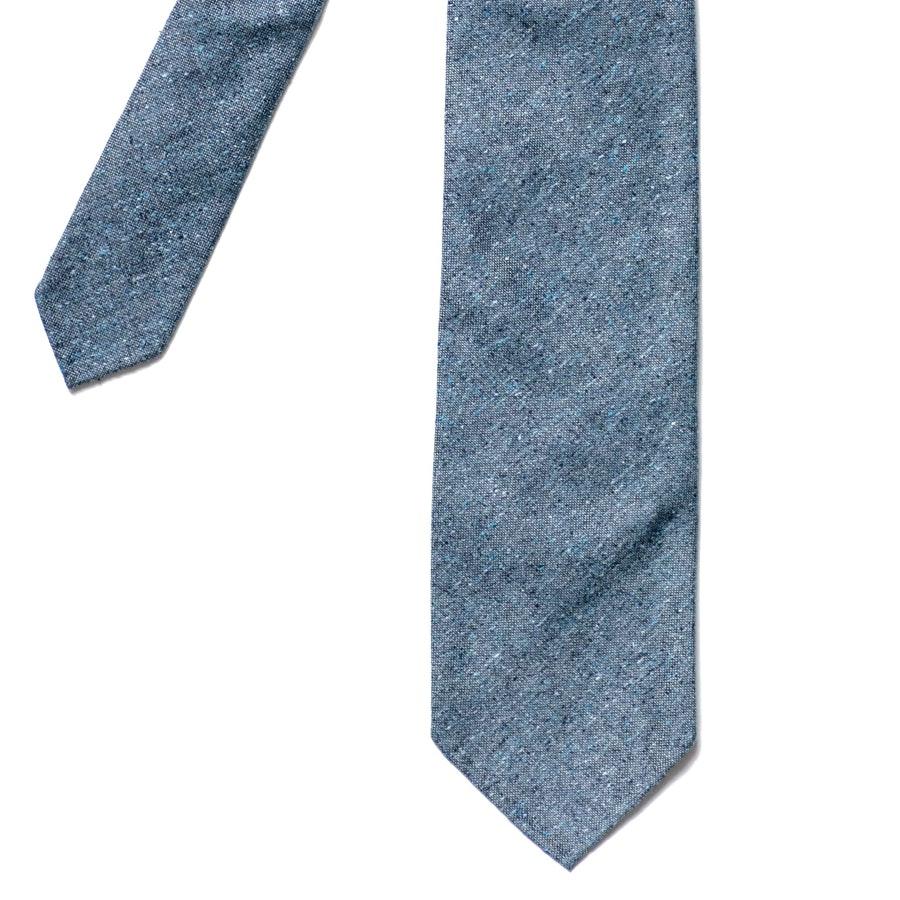 Summer Cotton - Flecked Dark Blue