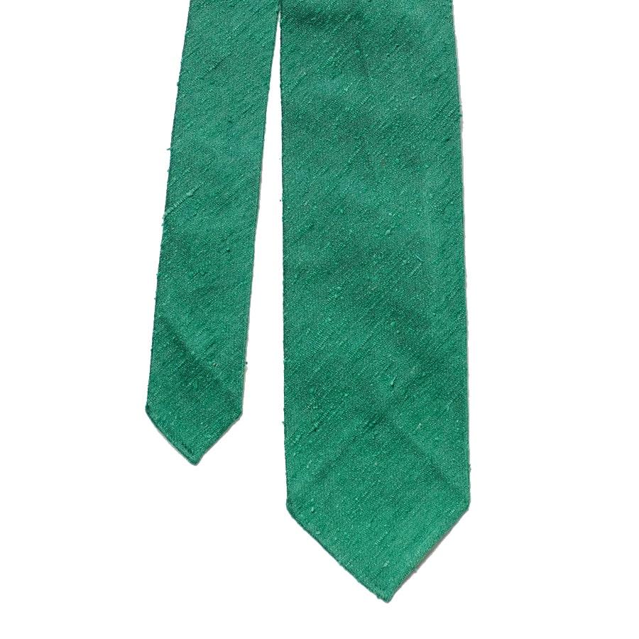Silk Shantung - Green