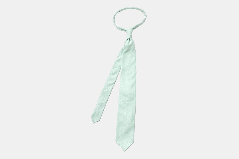Herringbone - Mint Green Cashmere