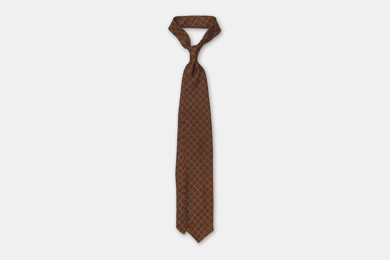 Artisan Silk Tie - Bronze