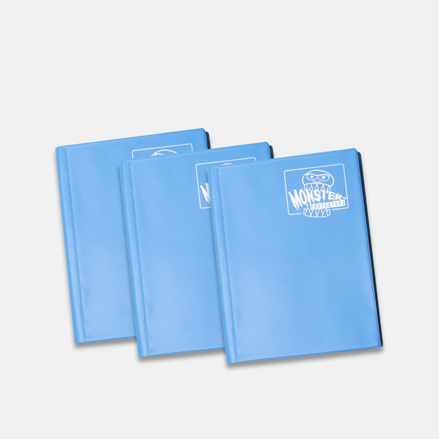 Monster Matte 4-Pocket Binder (3-Pack)
