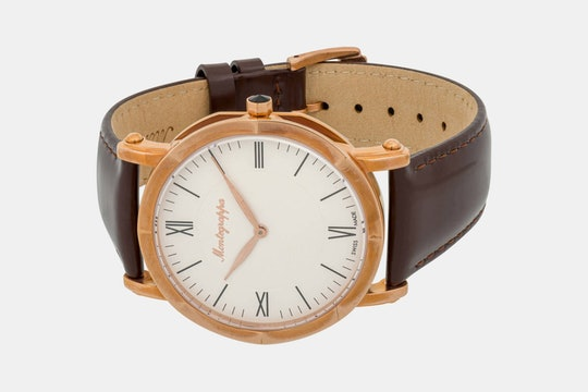 Montegrappa Fortuna 40mm Quartz Watch