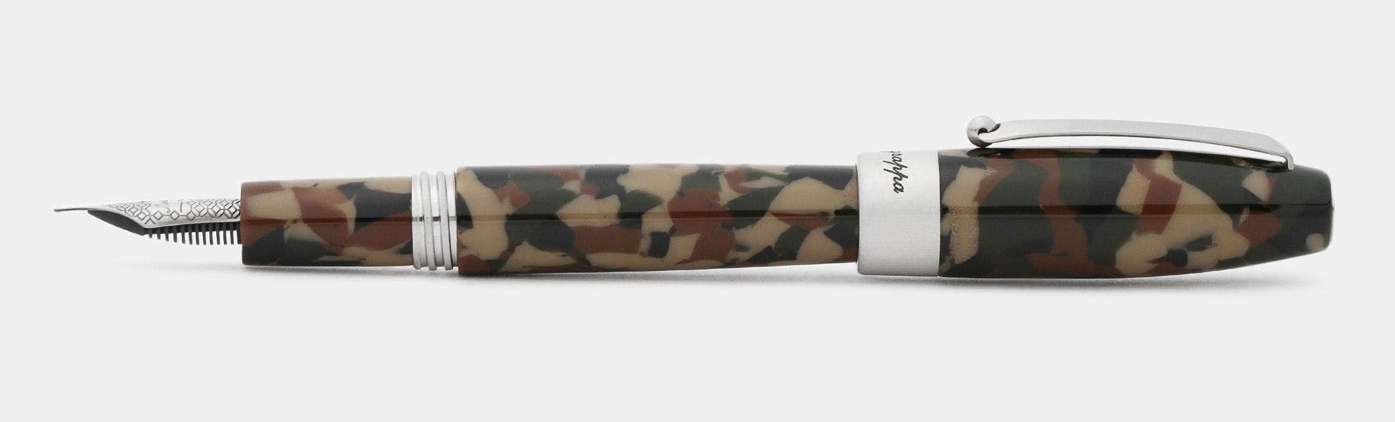 Montegrappa Fortuna Camouflage Fountain Pen