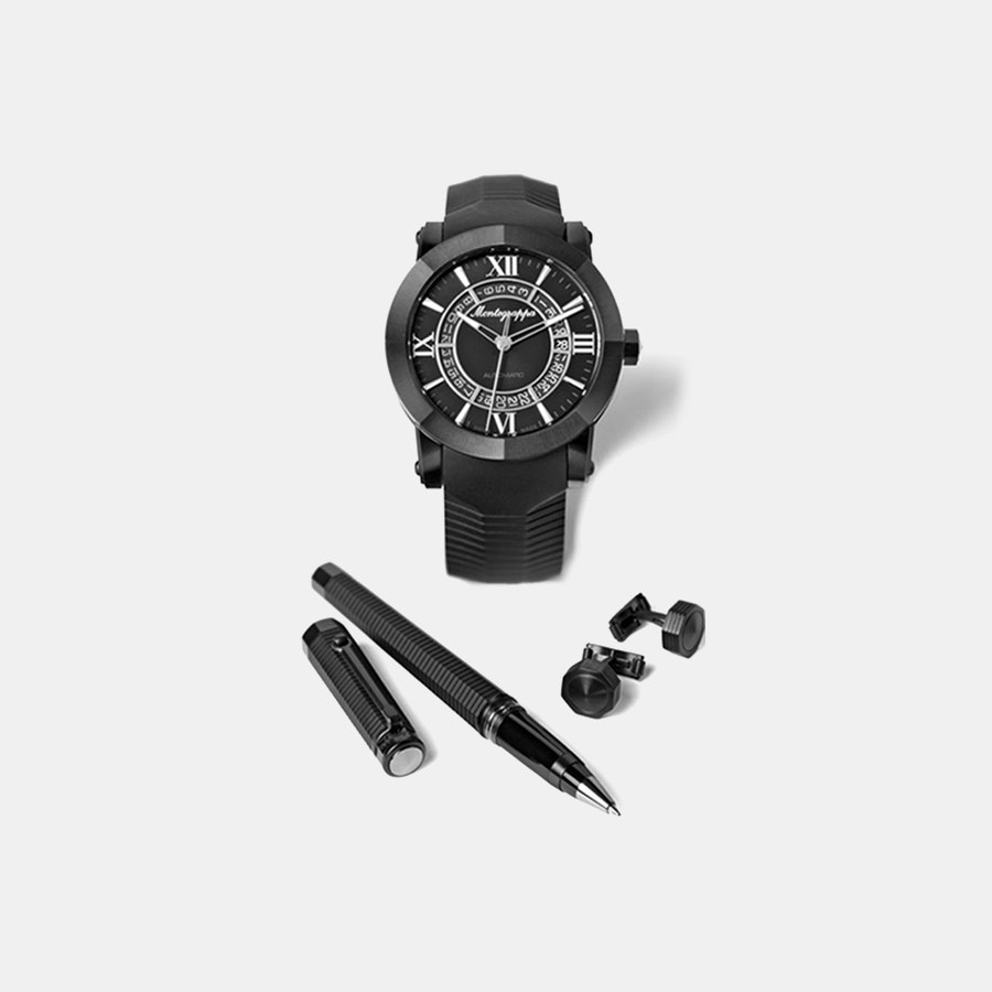 Montegrappa Nero Uno Automatic Watch Box Set