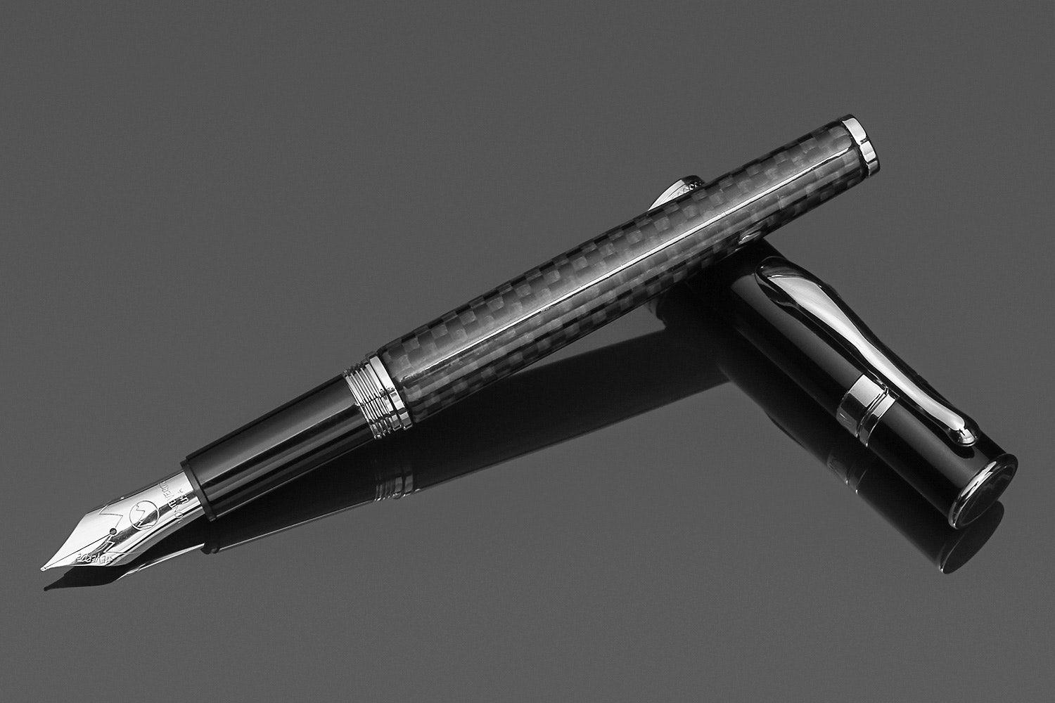 Monteverde Jewelria Carbon Fiber Fountain Pen