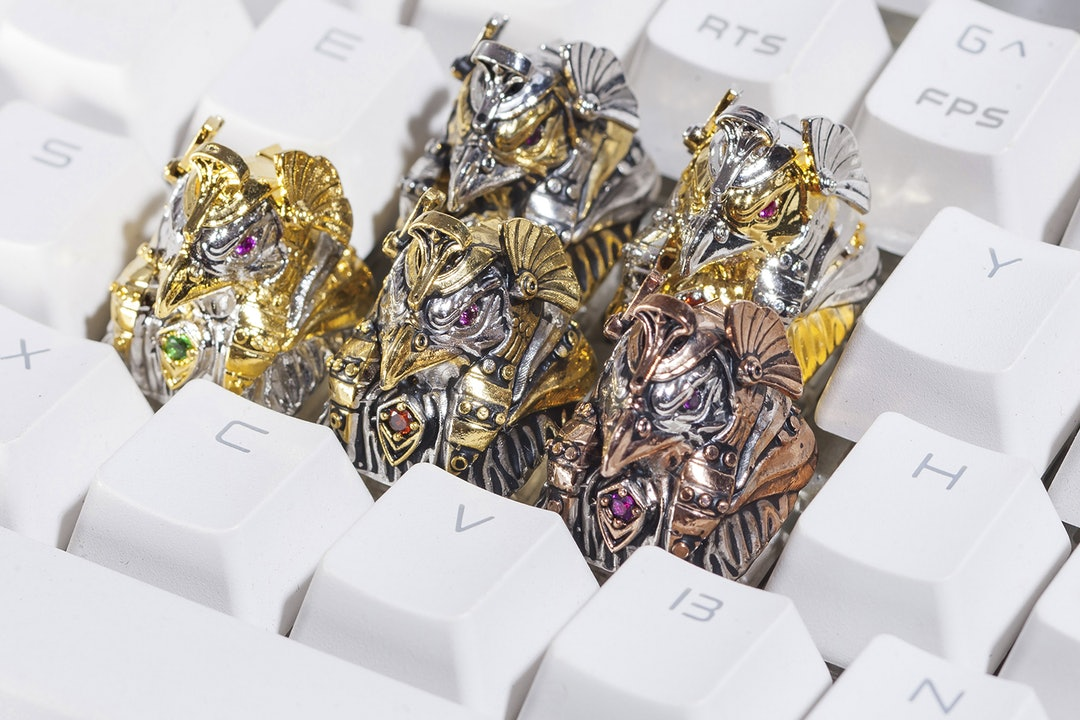 Moon Key Egyptian Gods Metal Artisan Keycap