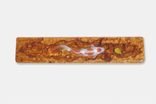 Moon Key Hand-Painted Koi Artisan Wrist Rest