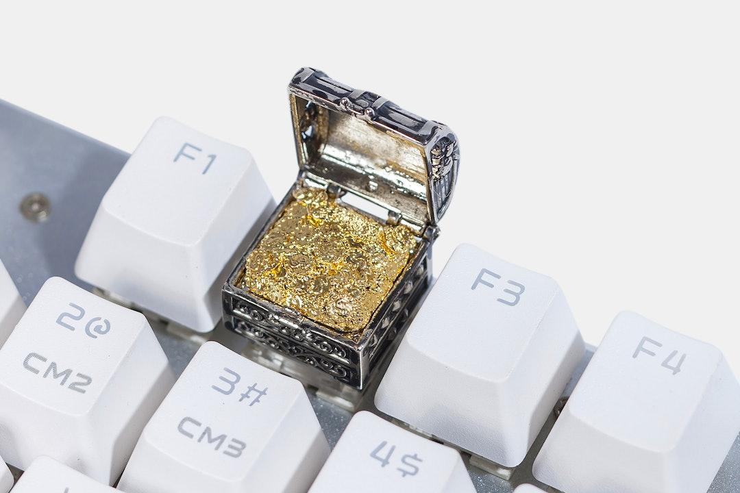 Moon Key Treasure Chest Artisan Keycap