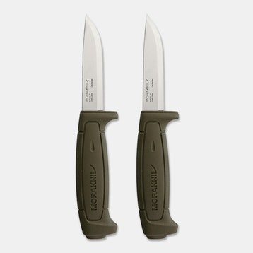 Morakniv Basic 511 Fixed Blade (2-Pack)