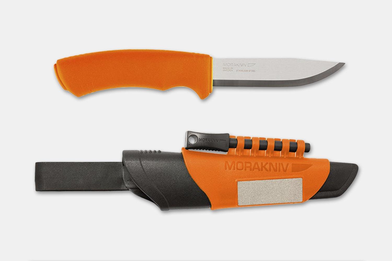 Bushcraft Survival Orange w/ Fire Starter (+$7)
