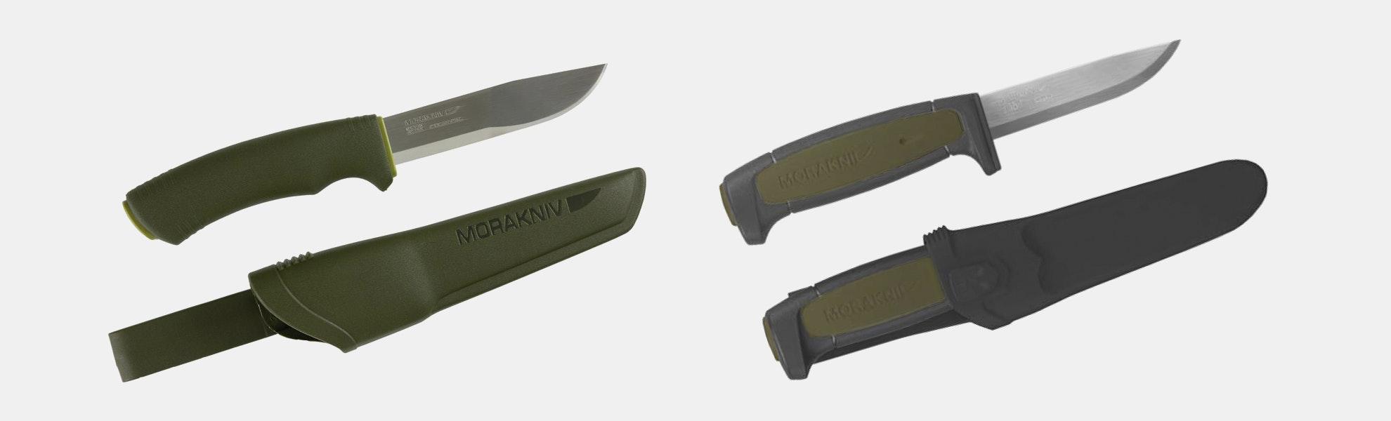 Morakniv Bushcraft & Basic 511 Knife Bundle